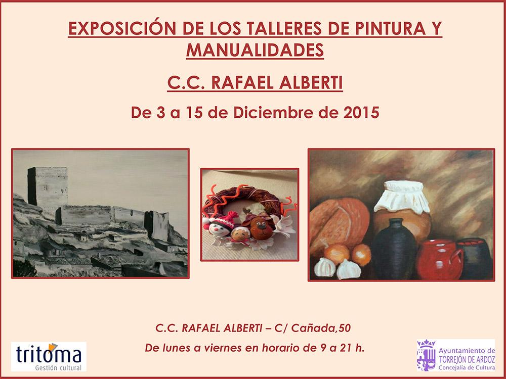 CARTEL-EXPOSICION-PINTURA-Y-MANUALIDADES-DIC-15--A3