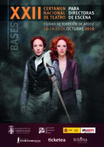 Bases XXII Certamen Nacional de Teatro para Directoras de Escena Ciudad de Torrejón de Ardoz