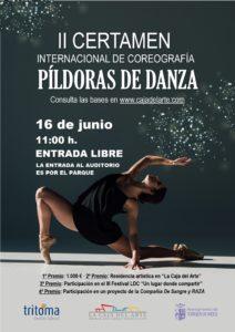 "FINAL II CERTAMEN INTERNACIONAL DE COREOGRAFÍA ""PÍLDORAS DE DANZA"""