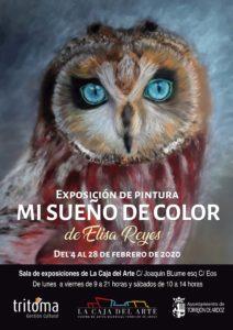"""Exposición """"Mi sueño de color"""" de Elisa Reyes"""