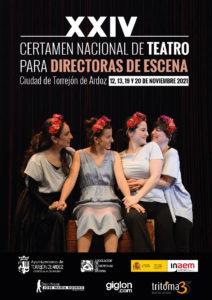 Hasta el próximo 12 de julio permanecerá abierto el plazo para participar en la XXIV edición del Certamen Nacional de Teatro para Directoras de Escena Ciudad de Torrejón de Ardoz que este año incrementa el número de premios